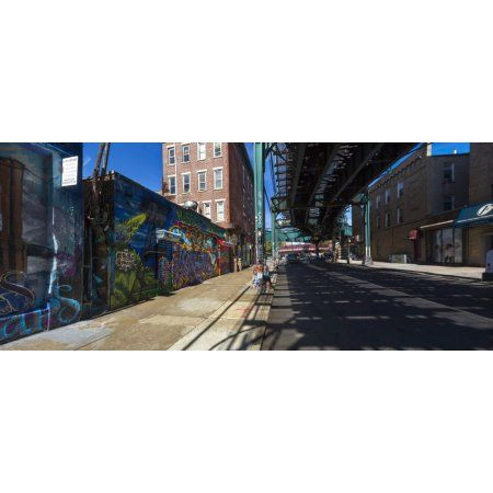 5Pointz Aerosol Art Center Long Island City New York City New York State USA Canvas Art - Panoramic Images (27 x 9)
