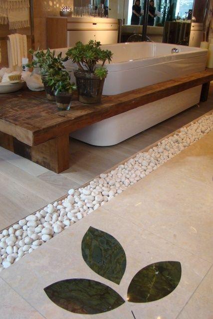 49 idee di design da bagno con piante e fiori, ideale per la primavera | DigsDigs