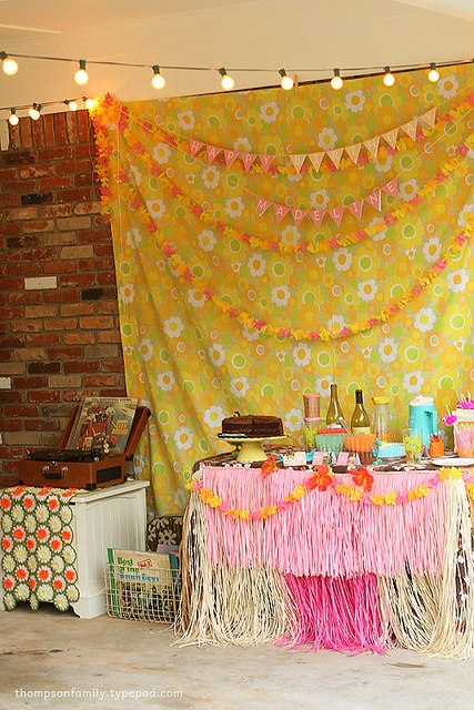 Beautiful tiki party, from Danielle T on Flickr