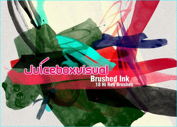 25 Artistic Brushes For Photoshop