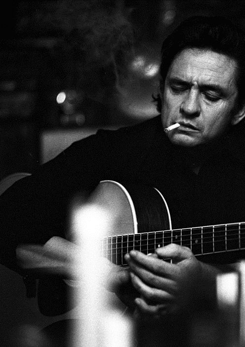 """I wear the black for the poor and the beaten down, Livin' in the hopeless, hungry side of town, I wear it for the prisoner who has long paid for his crime, But is there because he's a victim of the times."" — Johnny Cash"