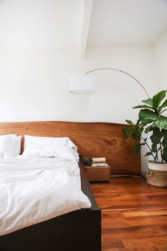 live edge wood headboardDecor, Wooden Headboards, House Tours, California House, Interiors, Head Boards, Slab Headboards, Bedrooms Ideas, Wood Headboards