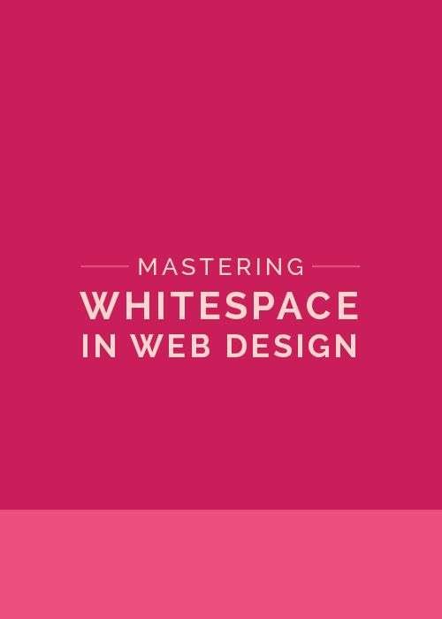 Current design trends show a preference for clean, simple and minimalistic  web designs. These simplistic layouts enhance the performance of a website,  improve readability and lead to a cleaner and more professional look and  feel.  A clean and simple web layout can be achieved thanks to an important design  element: whitespace.