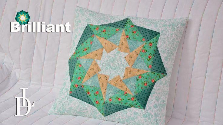 #brilliant #patchwork #quilt #triangl #vzory #tutorial #video #šablony
