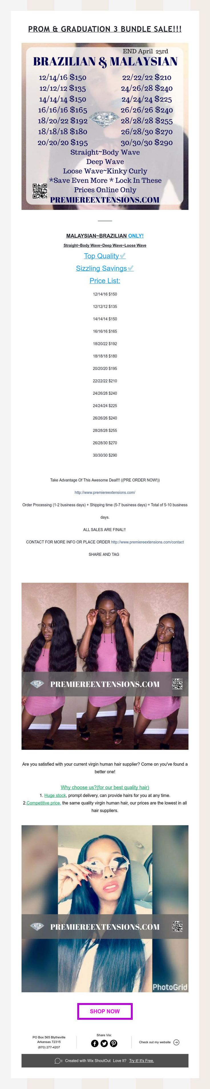 Prom & Graduation 3 Bundle Sale!!! 💁🏾 💃💃💃💃
