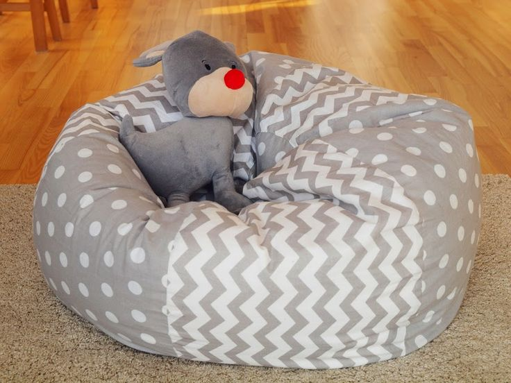 DIY beanbag for a child. Love it!