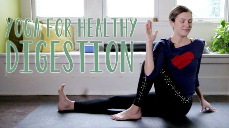 """""""Yoga for Digestion 