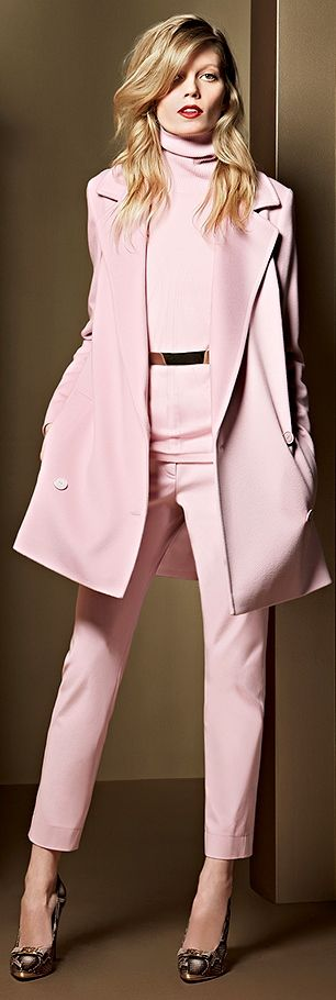 Escada pinks I must confess I am not a 'pink' person, but I think this outfit rocks !
