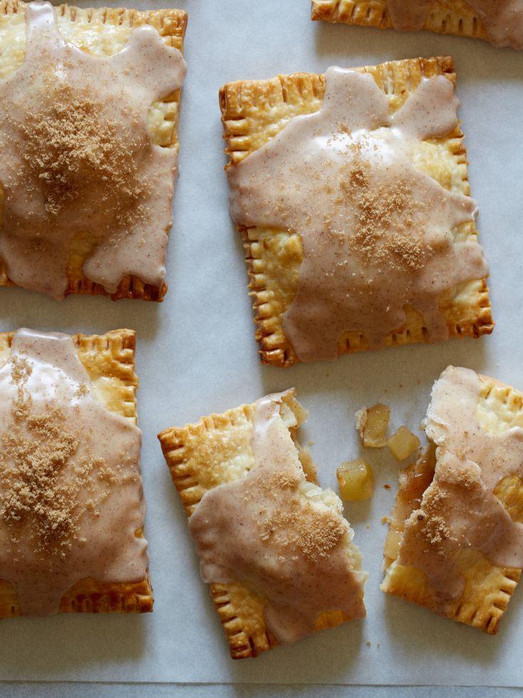 Brown Sugar-Apple Pie Pop Tarts with Chai-Spiced Icing