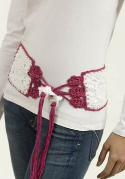 Millefilli Fine Flower Belt/Scarf, free pattern: Belts Scarfs Patterns, Beltscarf Patterns, Flower Beltscarf, Marianne Forrest, Crochet Belts, Flower Belts Scarfs, Crochet Patterns, Flower Patterns, Fine Flower