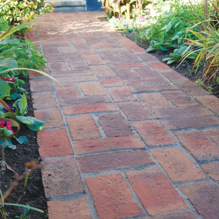 Clay Pavers Rose Cottage