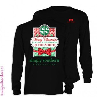 Southern Christmas Long Sleeve Simply Southern Shirt T Shirts In 2018 Pinterest Simply Southern Shirts Simply Southern Tees And Shirts