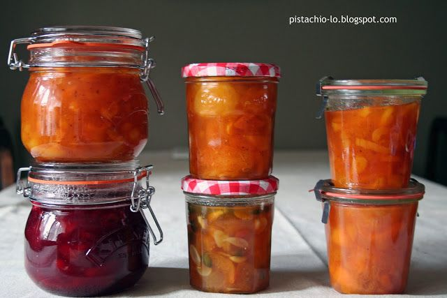 Pistachio: Z domowej spiżarni. Morele i brzoskwinie