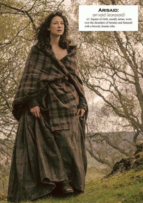 Outlander definitions.- Arisaid. (x)