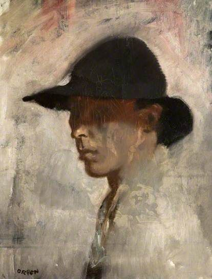 William Orpen (Irlande, 1878-1931) – Self Portrait (ca 1905-1910) Ulster Museum, National Museums Northern Ireland