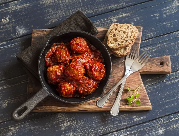 Try our #healthy Italian meatball #recipe the whole #family will enjoy !