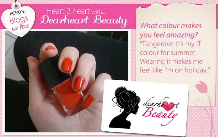 We asked @dearheartbeauty.com which #colour makes her feel amazing.
