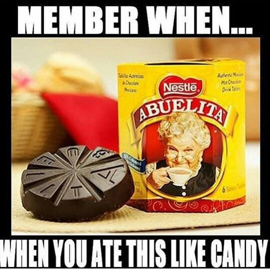Chocolate abuelita, mexican humor, growing up Mexican