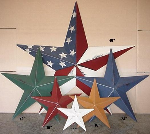 25 best ideas about Metal stars on Pinterest