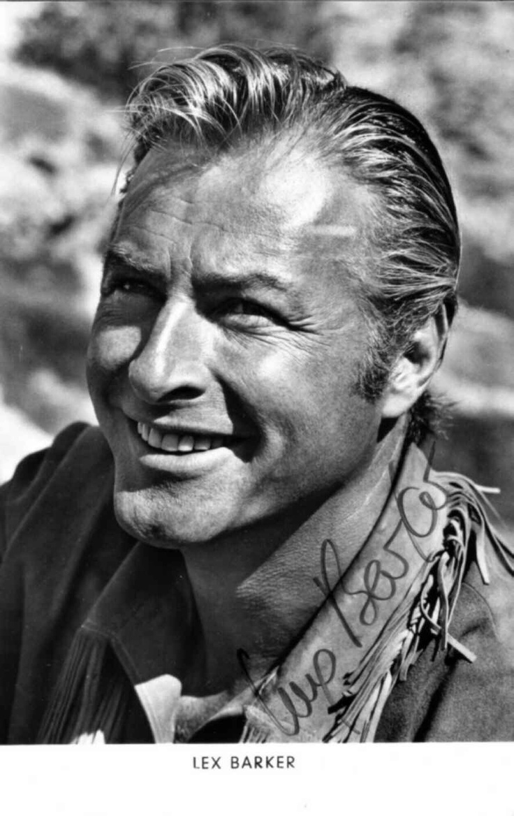 Lex Barker: look at that chin!
