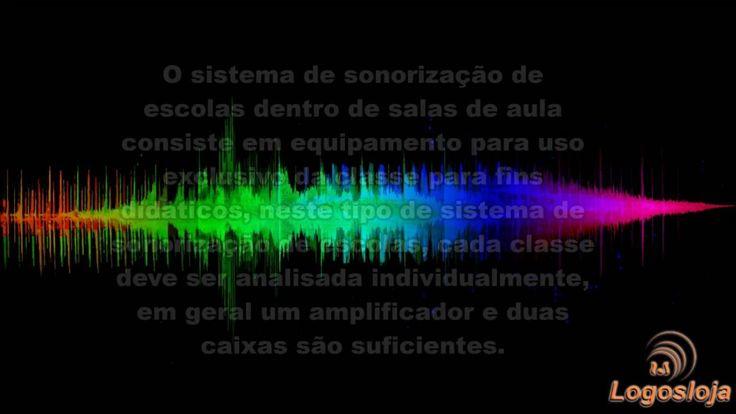 Sistema de Sonorização de Escolas - Logos Loja