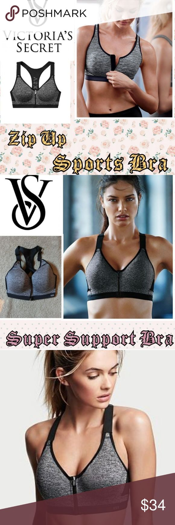 VICTORIA SECRET SPORTS BRA💞 New with out tags A size 32DD Has pads in the cup…