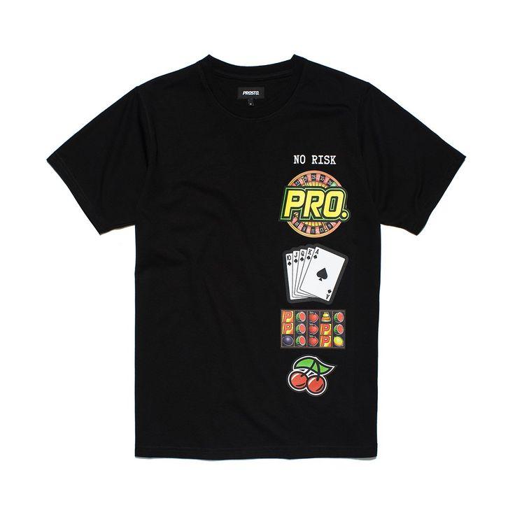 Koszulka RULET BLACK Koszulka wykonana z najlepszej jakości bawełny. Z przodu koszulki grafika.