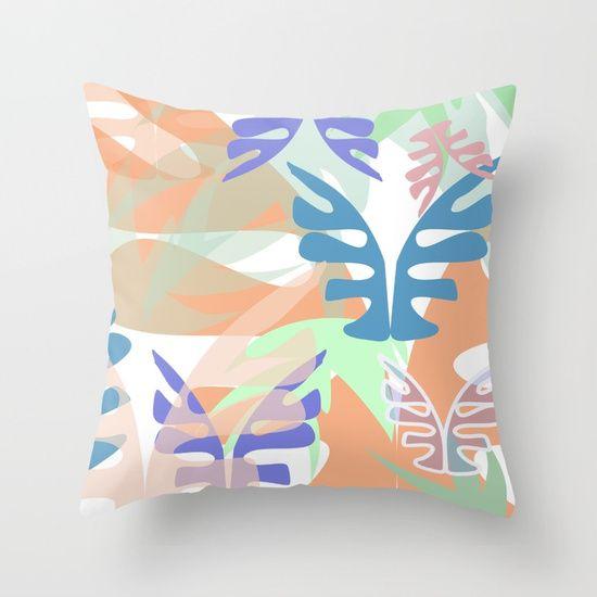 WildVeg 1 Throw Pillow