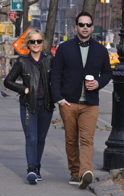 Amy Poehler and Nick Kroll.  2 of my favorite people