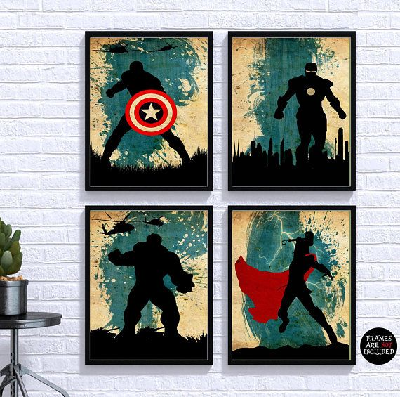 MARVEL SUPERHERO THE HULK POSTER PICTURE PRINT Sizes A5 to A0 **NEW**