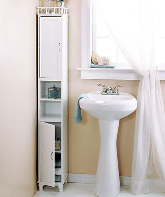 Small corner cabinet organizers and storage cabinets on for Bathroom cabinets small spaces