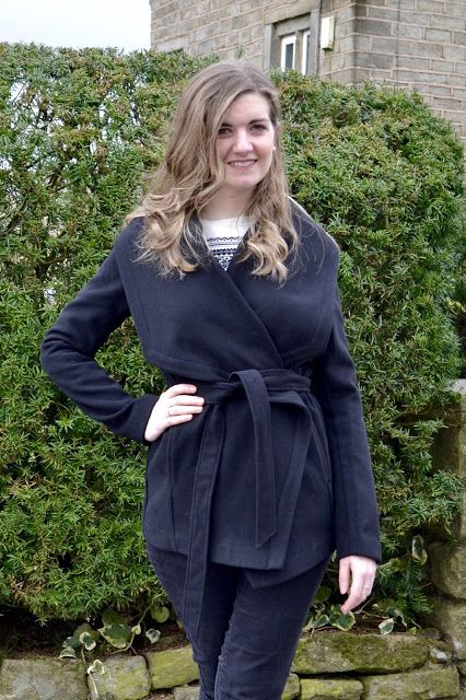 Long Tall Sally Belted Wrap Coat