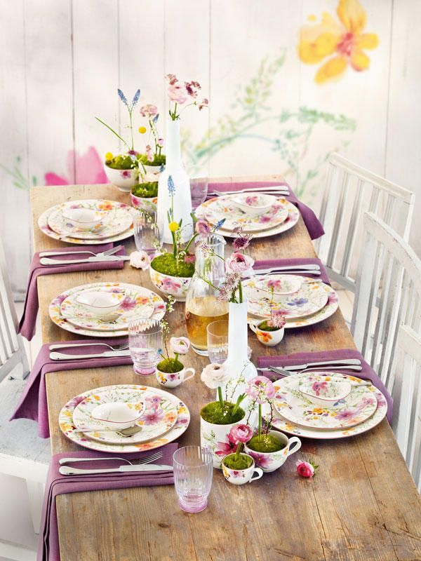 Villeroy & Boch Mariefleur Dinnerware