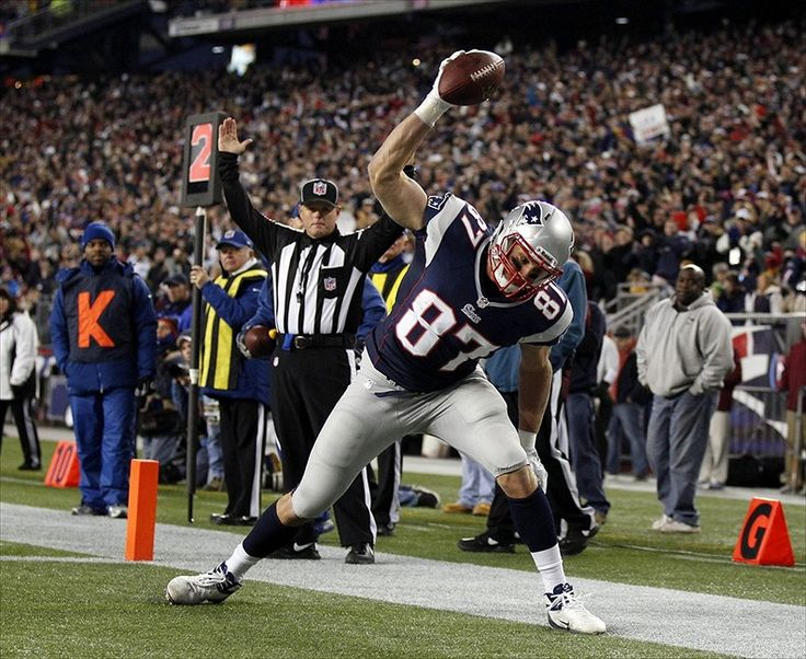 #87 Rob Gronkowski spiking the ball! #Gronksmash