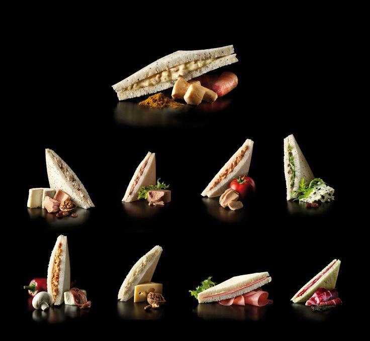 Foto de Sanduíches frias da Rodilla - nove variedades