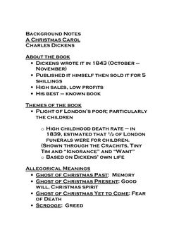 A Christmas Carol full teaching unit