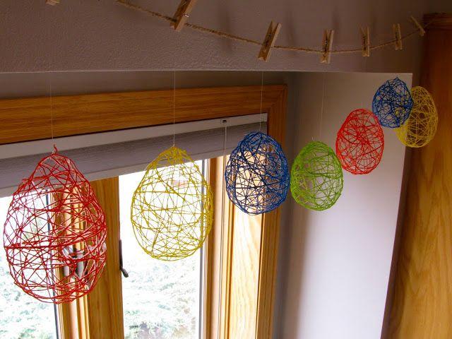 17 mejores ideas sobre globos de cuerda en pinterest for Decoracion del hogar facil y economico