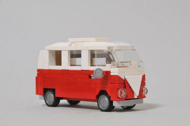 red VW... legos