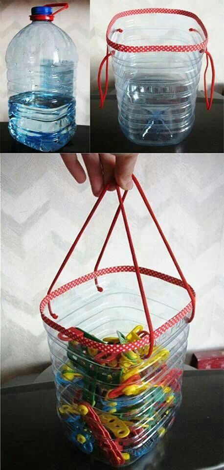 bottle to bag #upcycle