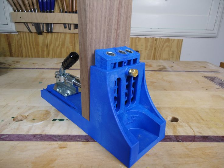 An introductory guide to using pocket screw joinery.