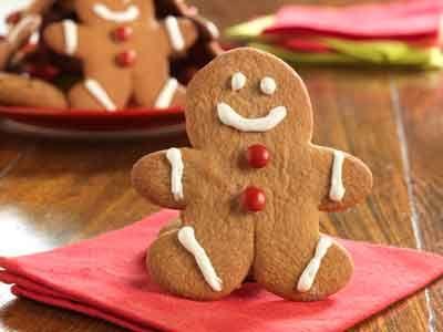 Little Gingerbread Men Cookies & Icing - Grandma's Molasses