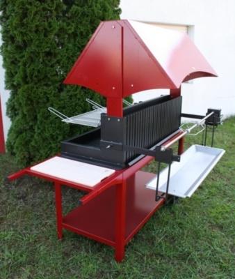 Barbecue, méchoui, ce grilloir est une magnifique réalisation de #LeMarquier, disponible en outre dans de nombreux coloris!