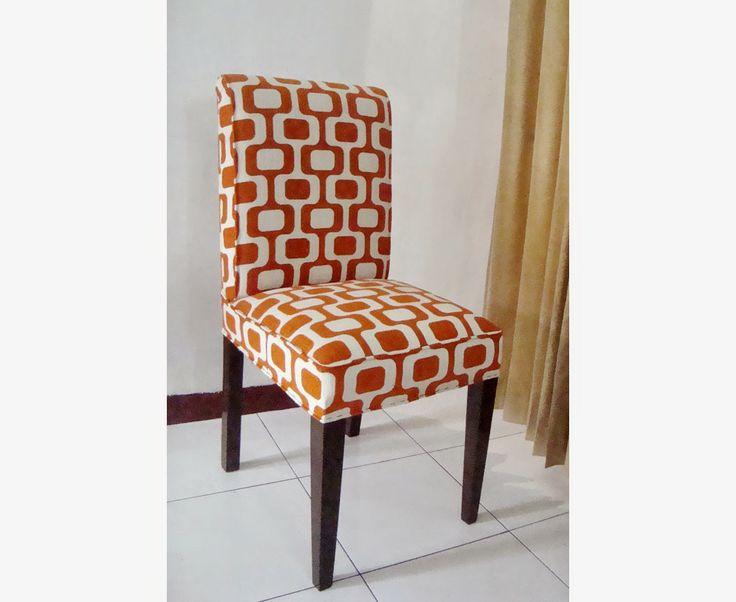 fresh orange chair