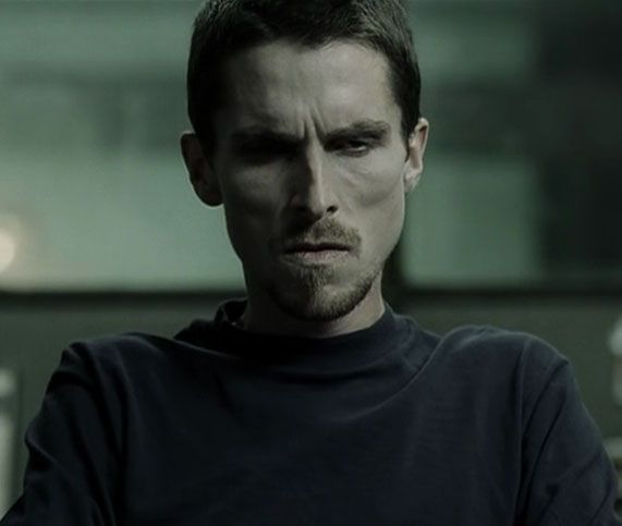 "Christian Bale en ""El Maquinista"" (The Machinist), 2004"