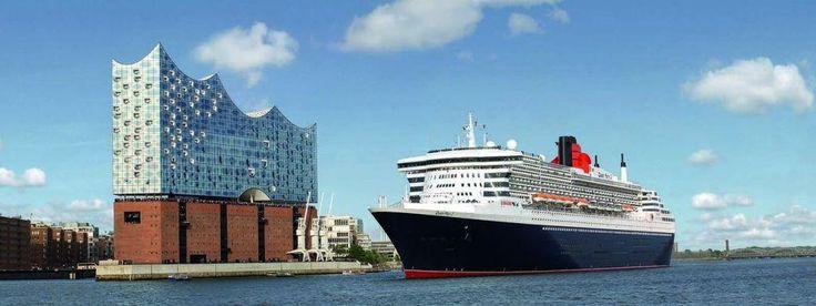 Cunard Jahresrückblick 2017 Kreuzfahrt, Ostsee und Norderney