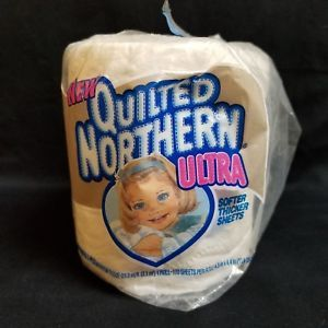 Vintage Quilted Northern Ultra Toilet Paper Bath Tissue