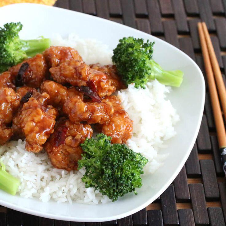 General Tso's Chicken.  daringgourmet.com