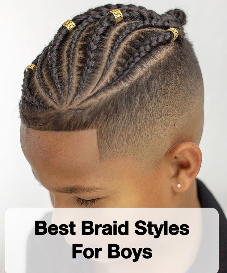 Braids For Children: 15 Wonderful Braid Kinds For Boys – Males's Hairstyles