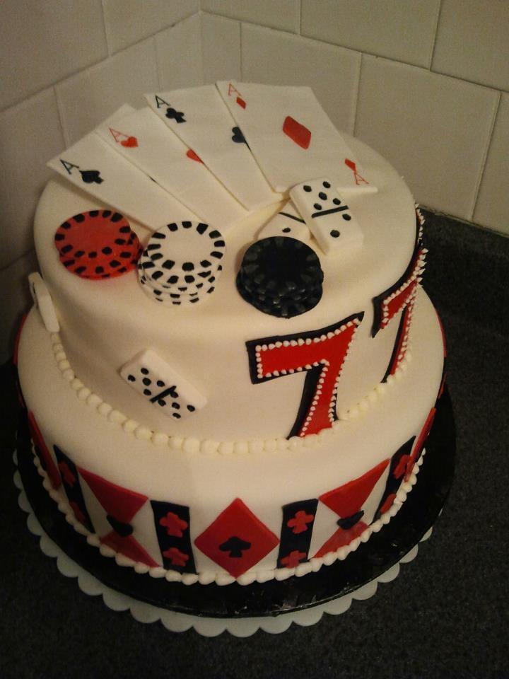 Gambling Cake Cake Food Breakfast For Kids