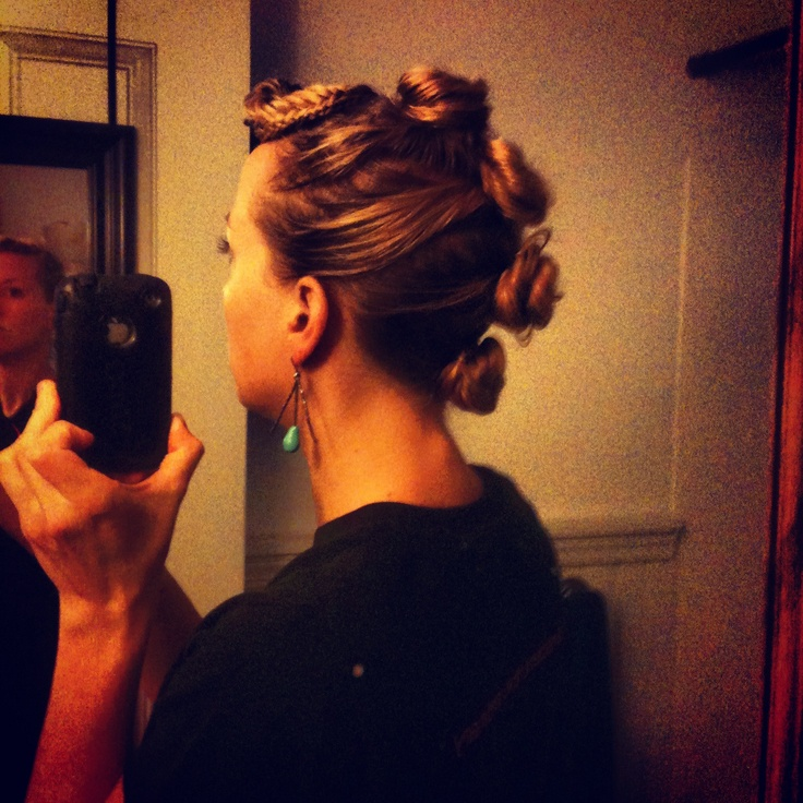 pseudo Mohawk for women with long hair. | Hair and hair ...